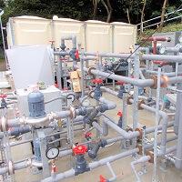 某所温泉施設給湯設備改修工事